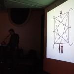 Carl Michael von Hausswolff, Lecture   Foto: ants and butterflies