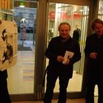 Eröffnug der TONSPUR 40, Georg Weckwerth, Franz Pomassl, Carl Michael von Hausswolff | Foto: Frank Paul, ants-and-butterflies.de